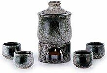 Verre a Saké Pottery japonais Sékin chaud avec