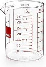 Verre doseur en verre 1 L Ibili