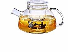 Verre Jug, verre borosilicate Teapot, créatif