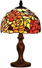 Verre Métal,Lampe De Table Tiffany Lampe De