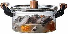 Verre Pot À Soupe Marmite Réchaud électrique de