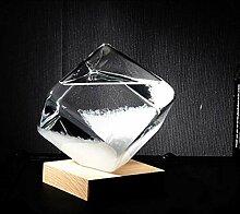 Verre Tempête Cristal Transparent Goutte