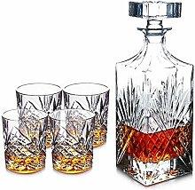 Verres à cocktail, Decanters de whisky de