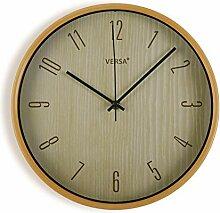 Versa 18560780 Horloge de Cuisine en Bois Clair 30