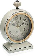Versa Horloge de Bureau Gris