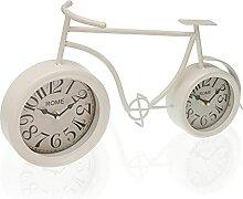 Versa Horloge de Bureau pour vélo Blanc