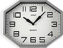Versa Horloge de Cuisine Gris 32 cm