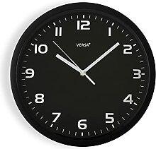 Versa Horloge de Cuisine Noir 30,5 cm