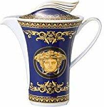 Versace Medusa Crémier, Porcelaine, Bleu, 17x