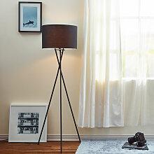 Versanora - Lampadaire trépied lampe de salon