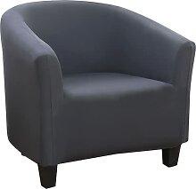 Vertvie Housse de Canapé Extensible Tub Chair Pur