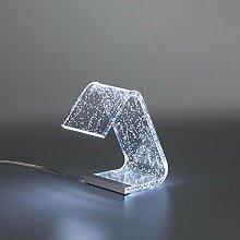 Vesta Abat-Jour avec LED Stardust Transparent LED