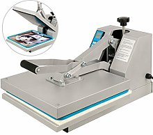 VEVOR Presse à Chaud Textile 38x38 Machine