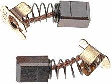 vhbw 2x Balais de charbon pour moteur électrique