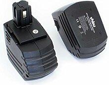 vhbw 2x NiMH batterie 3300mAh (15.6V) pour outil