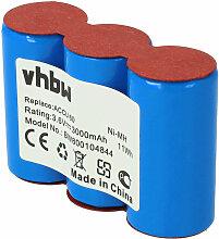 vhbw Batterie 3000mAh (3.6V) pour ciseaux à bois