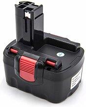 vhbw Batterie remplace Bosch 2 607 335 528, 2 607