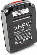 vhbw Batterie remplacement pour Black & Decker