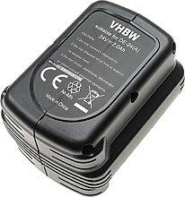 vhbw Batterie remplacement pour Dewalt DW0242 pour