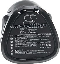 vhbw Batterie remplacement pour EGO CBA0240 pour