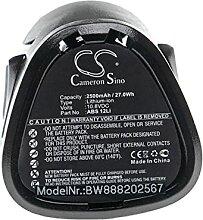 vhbw Batterie remplacement pour Lux Tools ABS 12Li