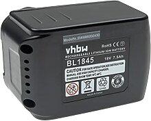 vhbw Batterie remplacement pour Makita BL1850B,