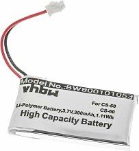 vhbw Batterie remplacement pour Plantronics
