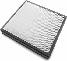 vhbw Filtre de rechange, filtre à air 2en1 (Hepa