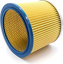 vhbw Filtre Rond/Filtre en lamelles aspirateur,