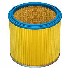 vhbw Filtre rond filtre lamelles pour aspirateur,