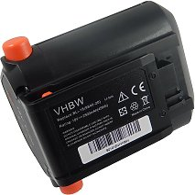 vhbw Li-Ion batterie 2500mAh (18V) pour