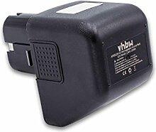 vhbw NiMH batterie 1500mAh (12V) pour outil