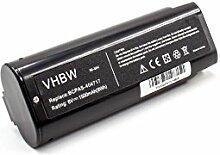 vhbw NiMH batterie 1500mAh (6V) pour outil