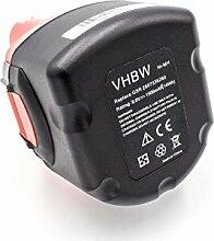 vhbw NiMH batterie 1500mAh (9.6V) pour outil