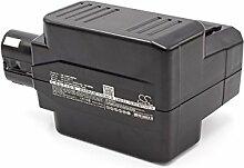vhbw NiMH batterie 2000mAh (24V) pour outil