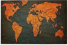 vhg8dweh Puzzles 1000 pièces,Carte du Monde réel