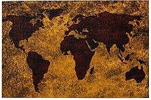 vhg8dweh Puzzles 1000 pièces,Carte du Monde Vieux