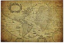 vhg8dweh Puzzles 1000 pièces,Carte du Monde