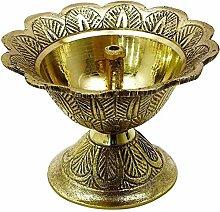 VHP Lampe à huile traditionnelle indienne