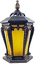 Victoria Retro Glass Lantern Lampe De Pilier