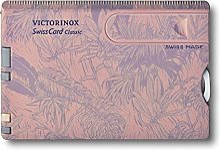 Victorinox Swiss Card, Multitool de poche suisse,