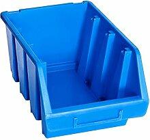 vidaXL 20x Bacs Empilables de Stockage Boîte à