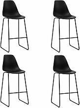 vidaXL 4X Chaises de Bar Siège de Bistrot Chaise
