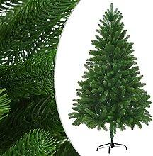 vidaXL Arbre de Noël Artificiel 180cm Vert Sapin