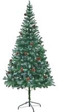 vidaXL Arbre de Noël artificiel avec pommes de