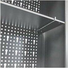 Vidaxl armoire à outils murale style industriel
