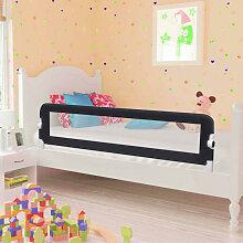 vidaXL Barrière de de sécurité de lit enfant