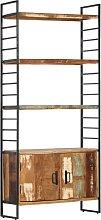 vidaXL Bibliothèque 4 niveaux 80x30x180 cm Bois
