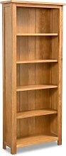 vidaXL Bibliothèque à 5 étagères 60x22,5x140
