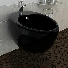Vidaxl - Bidet suspendu en c¨¦ramique sanitaire